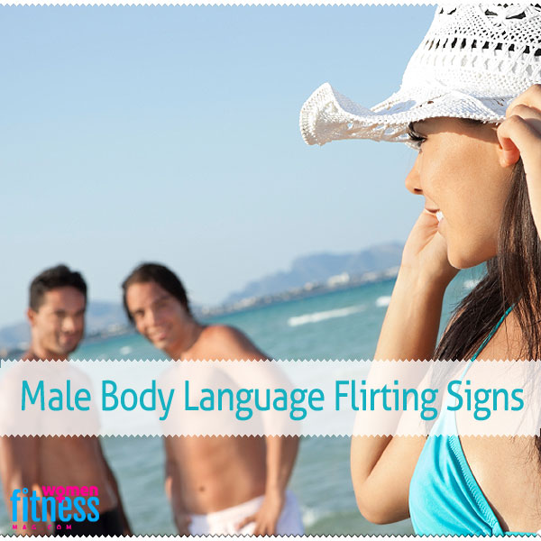 language Women signs body flirting