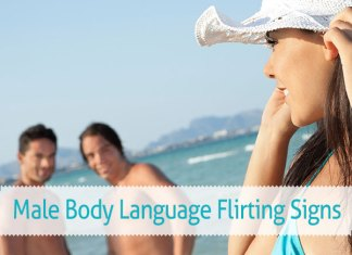 Male Body Language Flirting Signs