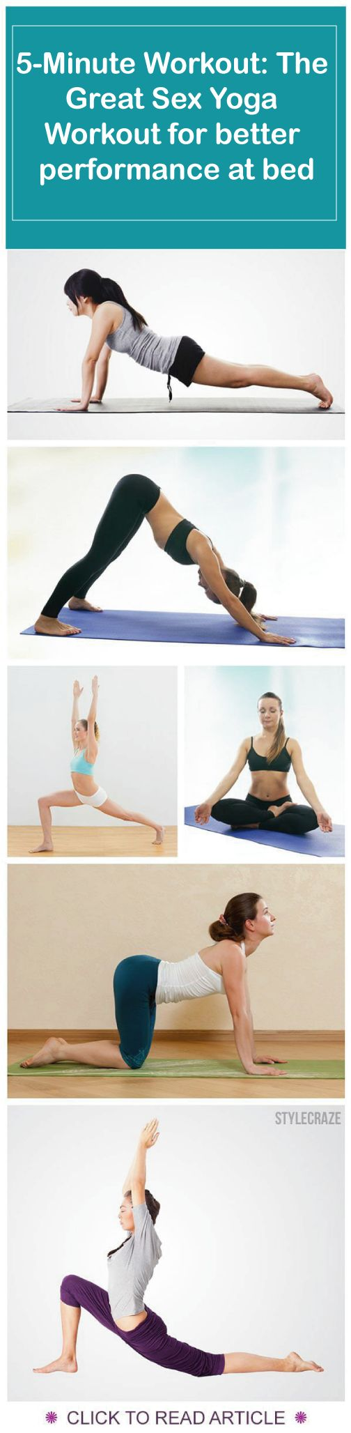 Yoga Poses You Need To Boost Your Sexual Stamina