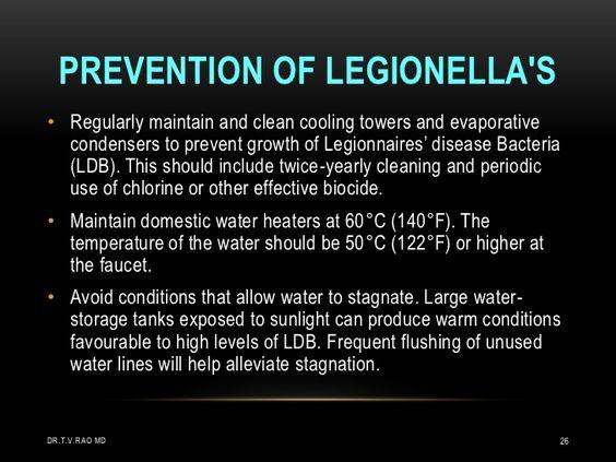 Legionella Testing Kits