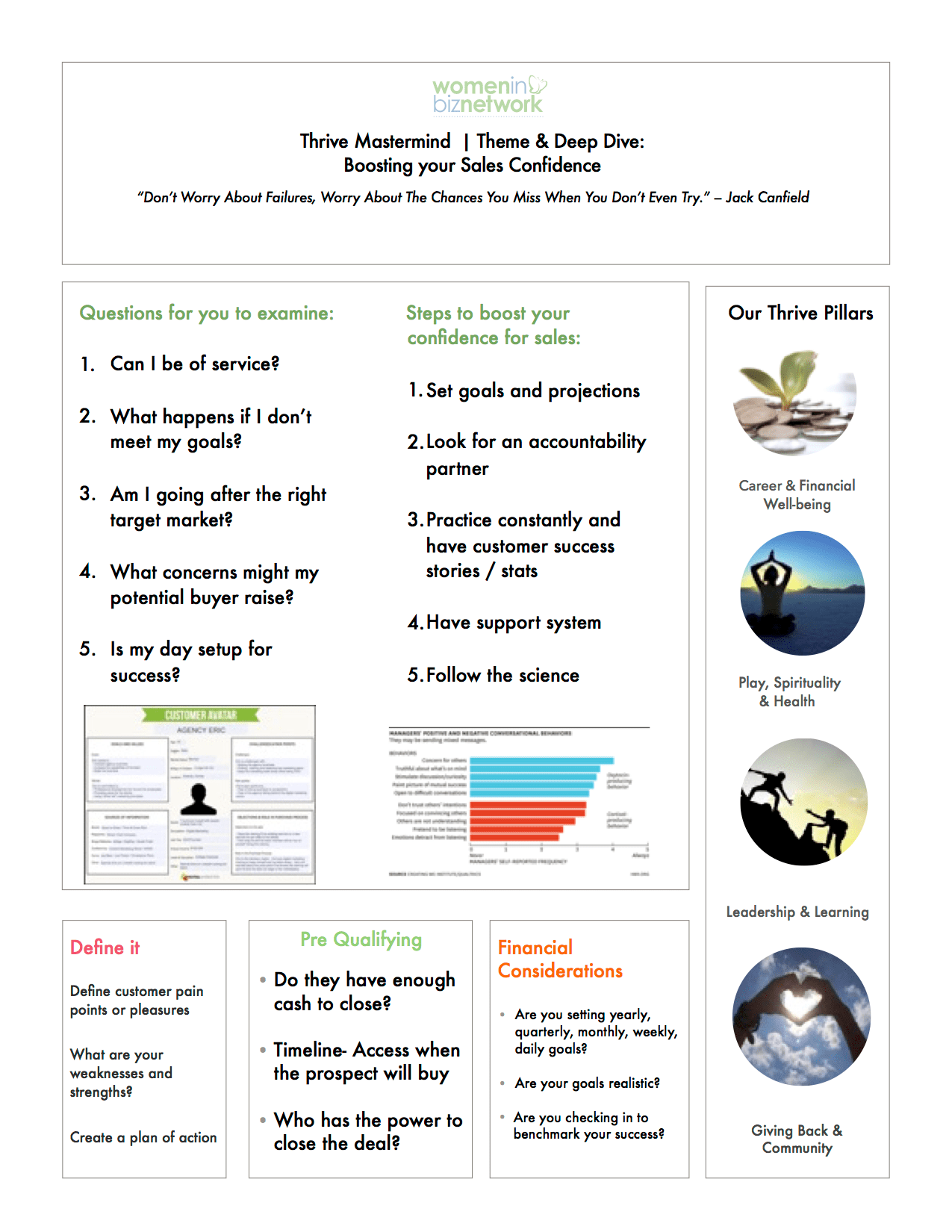 Complete The Boost Your Confidence Worksheet