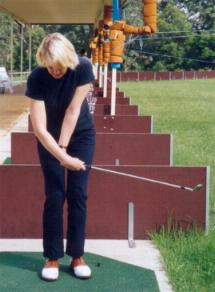 Ann Rollo Wrist Break in Golf Swing