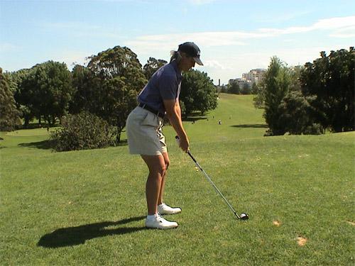 Women in Golf full posture