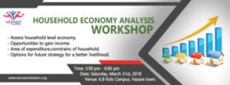Household Economy Analysis Workshop