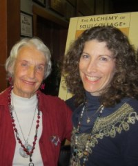 Soulcollage Founder Seena Frost with Facilitator Laura Rubinstein