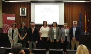 Amuebla presents the 'Women in Power' project at the University of Murcia