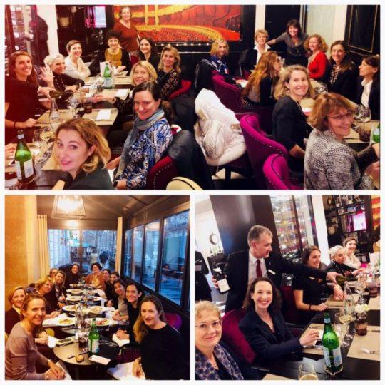Women In restructuring WIR repas de noel activité
