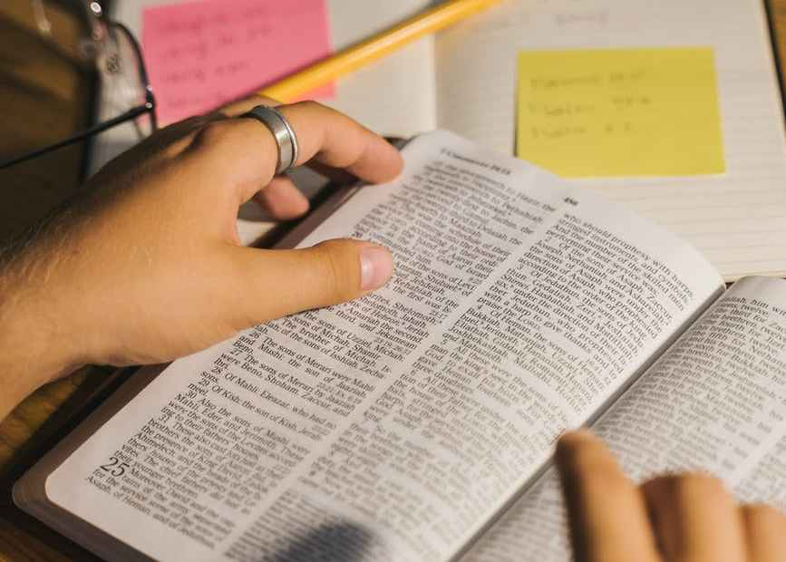 easy steps to bible study for beginners