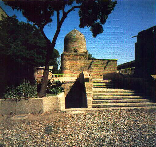 BIBLE WOMEN: ESTHER: A tomb in Iran, said to belong to Esther and her uncle Mordecai