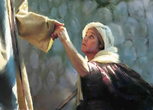 Image result for crippled woman at the synagogue, jesus