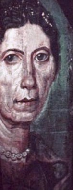 Fayum portrait of an older woman, Egypt