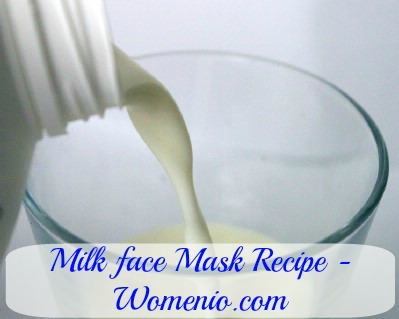 Milk face mask recipe