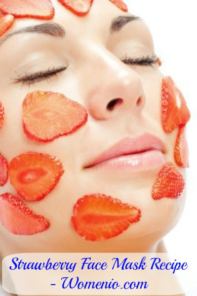 Strawberry face mask recipe