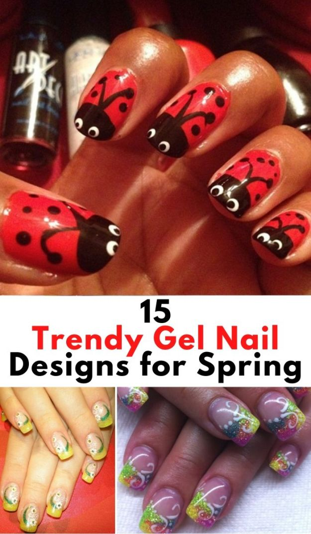 30 Cute Gel Nail Ideas for Summer (1)