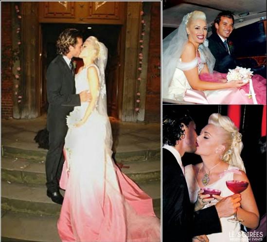 Wedding dress from Gwen Stefanie's wedding