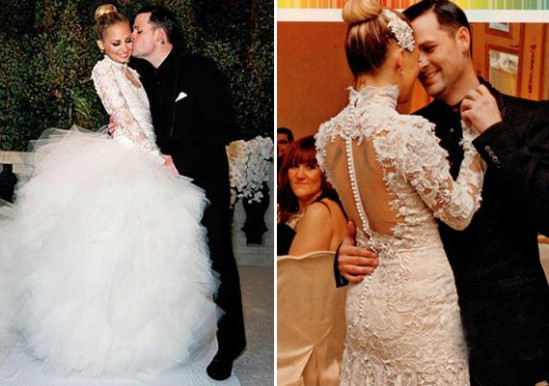 Nicole Richie's wedding dress