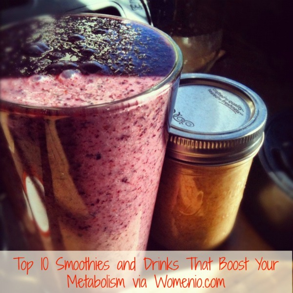 Boost your metabolism with our 10 awesome refreshments