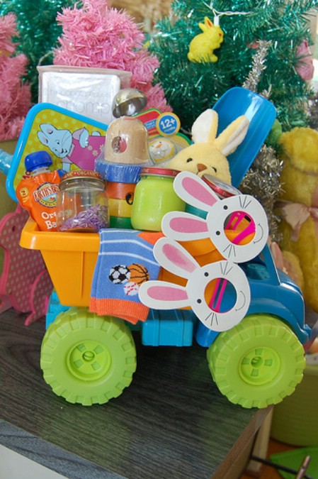 DIY Baby Easter basket idea
