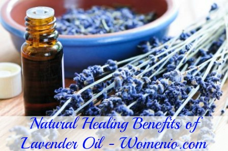 Natural healing with lavender oil