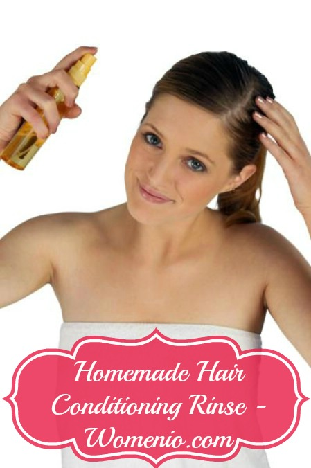 Homemade Hair Conditioning Rinse