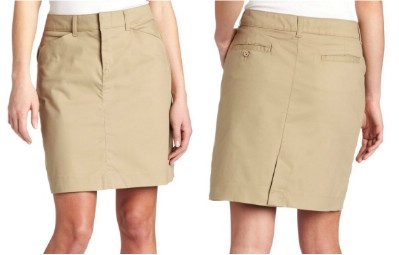 Dickies Women's 20 Inch Stretch Twill Skirt