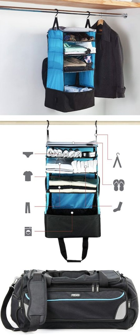 Packable Hanging Shelves