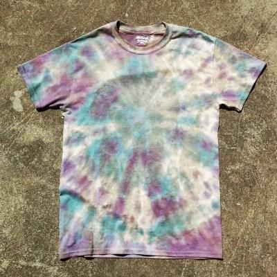 galaxy tie dye shirt