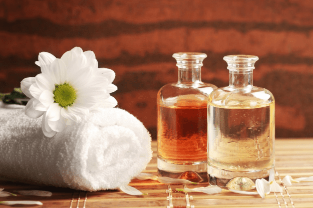 home made massage oils
