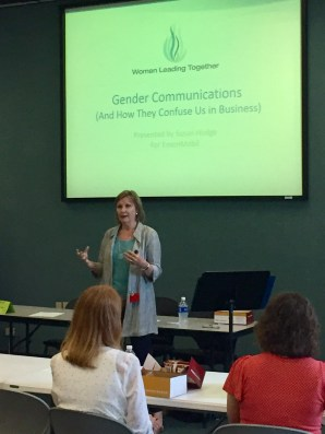 Susan Hodge at ExxonMobil Women's Interest Group in Baton Rouge (August 4, 2017)