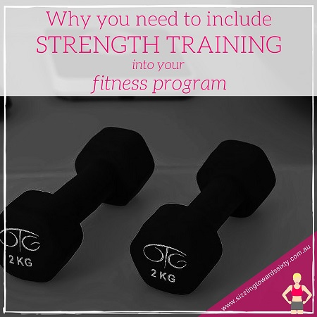 Include Strength Training in your fitness program
