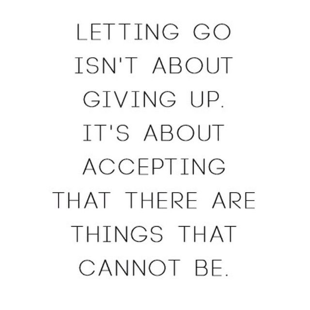 Letting Go Quote