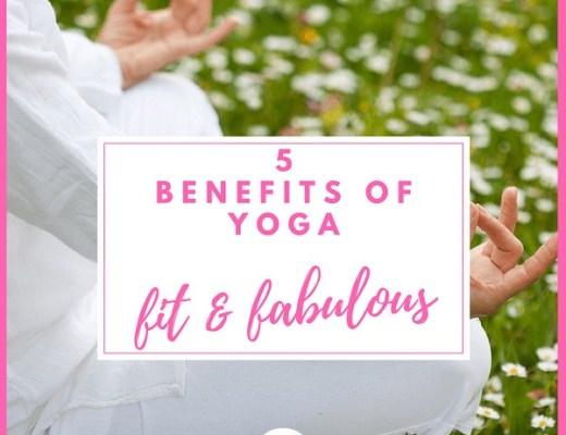 Over 50s 5 Benefits of Yoga