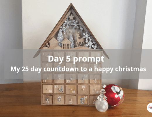Day 5 prompt #my25daycountdowntoahappychristmas
