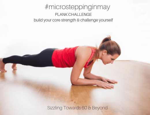 #MicrosteppinginMay Plank Challenge