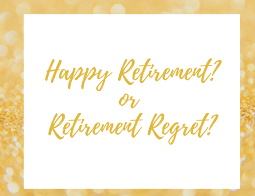 Retirement Regret