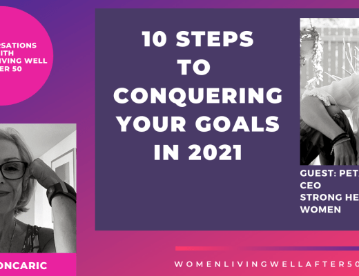 10 steps to conquering your goals