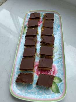 Tan Slice from the Brookfield Kitchen Diaries