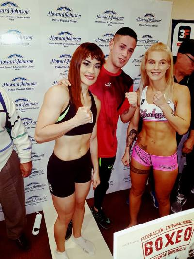 Weights Achieved for Friday's Marcela Acuña IBF Title Challenge from Shannon O'Connell