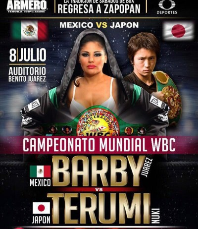 Mariana Juarez to Defend her WBC Title Against Terumi Nuki on July 8th