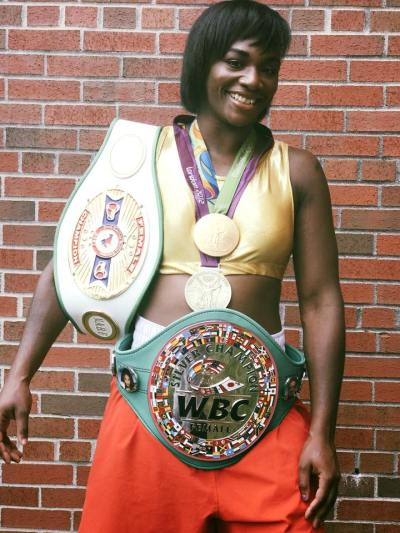"Claressa Shields: ""I'm just going to do it and dominate like always"""