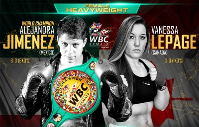 Alejandra Jimenez to Defend her WBC Title on August 12th Against Vanessa Lepage