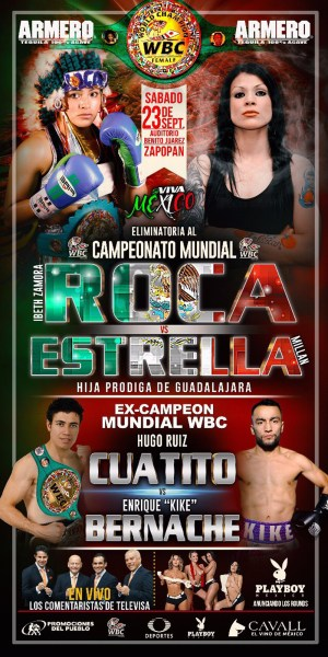 Ibeth Zamora and Isabel Millan to Square Off on September 23 in Hopes to Challenge for WBC Gold