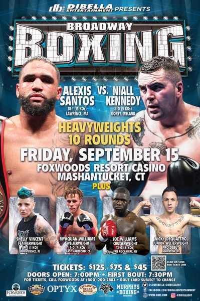 Shelly Vincent to Return to Action on September 15th at Foxwoods Resort Casino