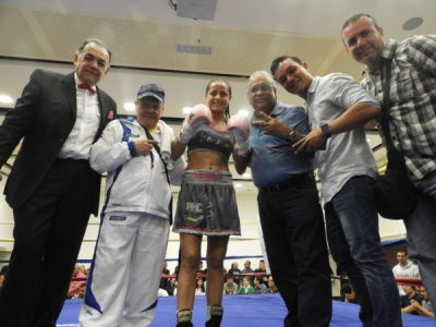 Mayerlin Rivas Highlighted Colombia Show with 1st Round KO in Preparation for her November 2nd WBA Defense