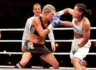 Mikaela Lauren Gets Another Crack at Cecilia Brækhus on October 21 in Norway