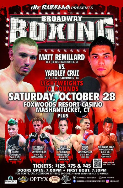 Shelly Vincent to Return to Familiar Grounds for Broadway Boxing at Foxwoods, CT on October 28