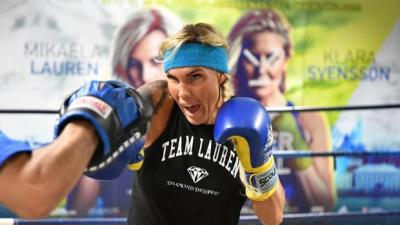 A Very Confident Mikaela Lauren is Ready to Earn the Respect of Cecilia Brækhus