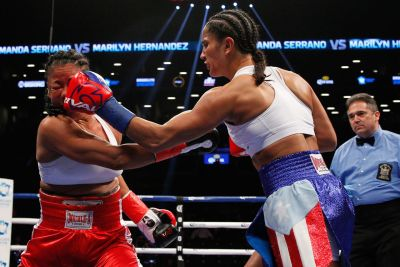 Amanda Serrano Makes Quick Work of Marilyn Hernandez in What Could be her Final Boxing Match