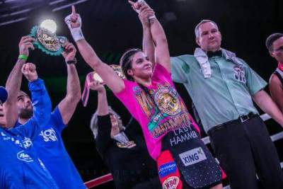 WBC and WBO Champ Christina Hammer Puts the Hammer Down on Gifty Amanua Ankrah; Set for her Invasion of US with Warning for Claressa Shields