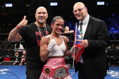 Amanda Serrano Earns Nomination for Univision's Female Athlete of the Year